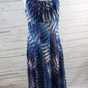 Signature Ella Women Size 14 Flowing Stretch Dress